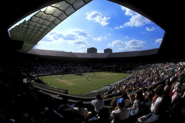 Wimbledon new roof