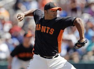 Giants beat Dodgers 4-1 in spring game
