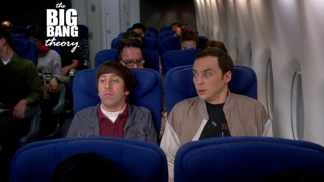 The Big Bang Theory - Scared Of A Little Turbulence