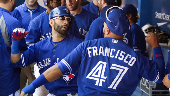 Bautista homers, Blue Jays beat Yankees 2-0