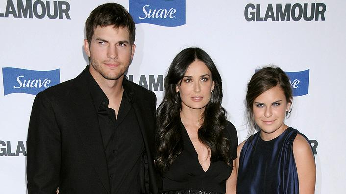 Glamour Reel Moments 2008 Ashton Kutcher Demi Moore Tallulah Belle Willis