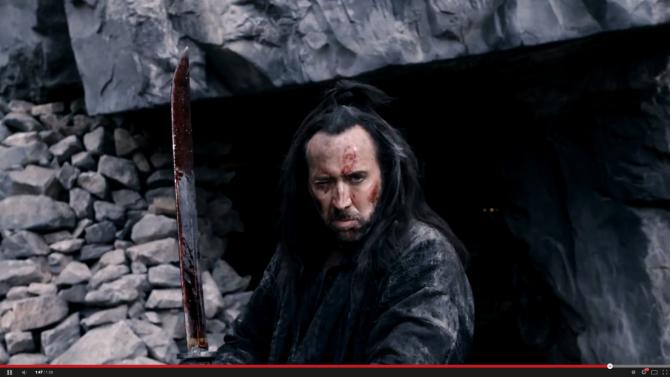 """In """"Outcast,"""" Nicolas Cage plays a former crusader who comes to the aid of the heirs to the Chinese throne."""