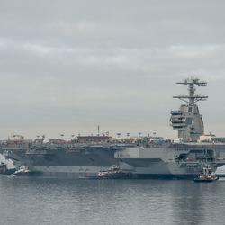Aircraft on Ford-class carriers won't be able to use external fuel tanks