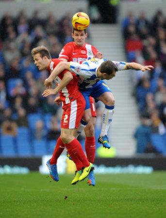 Soccer - Sky Bet Football Championship - Brighton and Hove Albion v Blackburn Rovers - AMEX Stadium