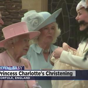 Royal Baby Gets Christened In England