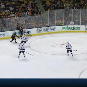 Jonathan Quick Save on Brad Marchand (08:03/1st)