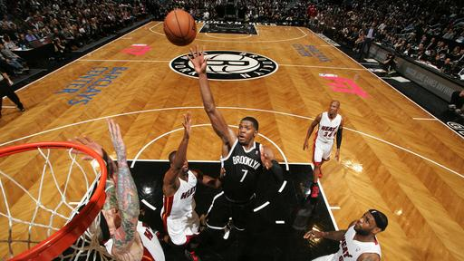 Nets beat Heat in 2 OTs for 5th straight win