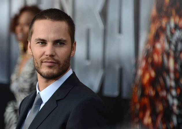 Taylor Kitsch arrives for the premiere of &#39;Battleship&#39; at the NOKIA Theatre at L.A. LIVE in Los Angeles on  May, 10, 2012  -- Getty Premium
