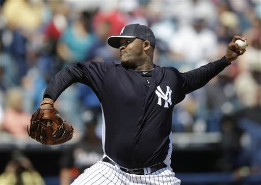 Sabathia pitches 5 innings in spring debut