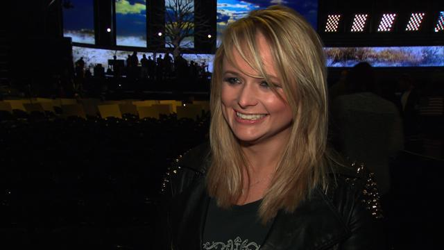 55th GRAMMY Awards - Miranda Lambert Interview