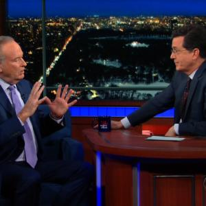 Stephen Colbert and Bill O'Reilly Go Head to Head Over Politics