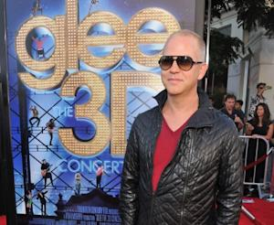 Ryan Murphy smiles at the 'Glee: The 3D Concert Movie' Los Angeles Premiere at the Regency Village Theatre in Westwood, Calif., on August 6, 2011 -- Getty Premium