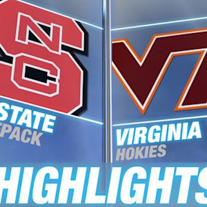 North Carolina State vs Virginia Tech | 2015 ACC Softball Highlights