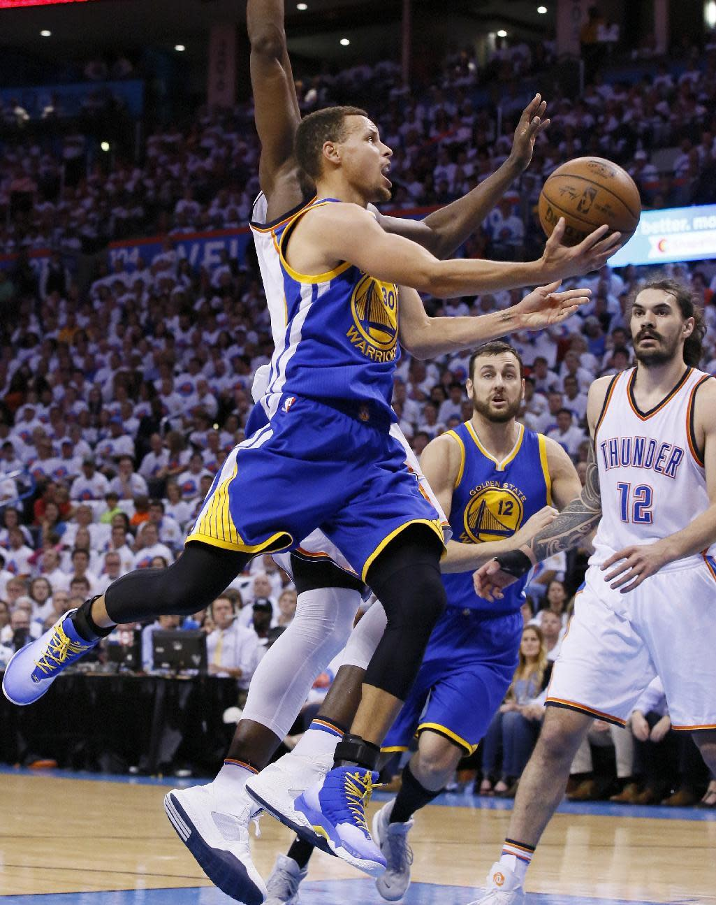 Stephen Curry, LeBron James named first-team All-NBA