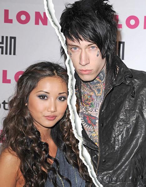 Trace Cyrus, Brenda Song End Engagement