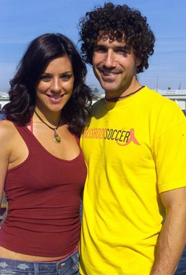Jenna Morasca and Ethan Zohn NBC's Fear Factor - Reality Stars