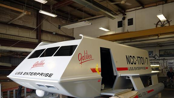 'Star Trek' Superfans Restore Galileo Shuttlecraft to 1960s Sci-Fi Glory