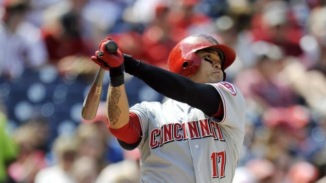 MLB: Cincinnati Reds at Washington Nationals