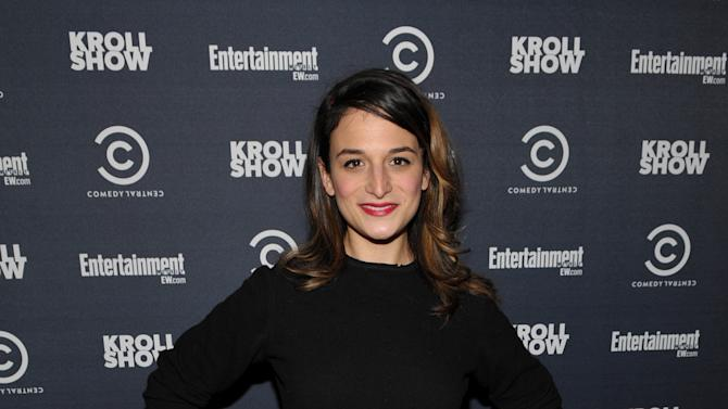"Actress Jenny Slate attends an exclusive screening of Comedy Central's ""Kroll Show"" hosted by Entertainment Weekly on Tuesday, January 15, 2013 at LA's Silent Movie Theatre in Los Angeles. (Photo by John Shearer/Invision for Entertainment Weekly/AP Images)"