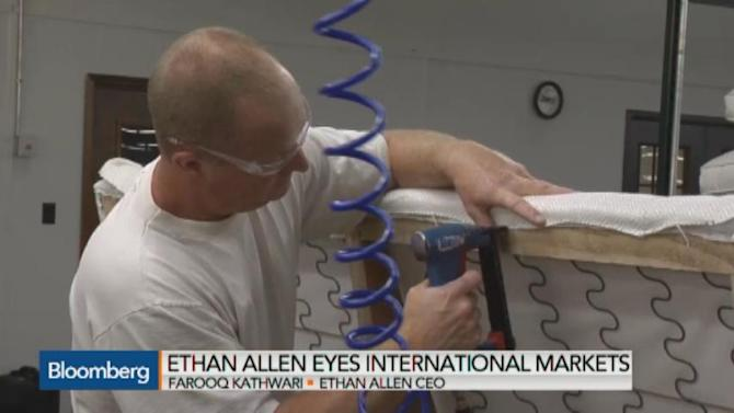 Ethan Allen Bringing Manufacturing Back to U.S.: CEO