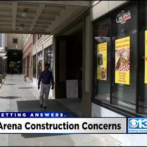 Sacramento Businesses Prepare For Chaos Of Downtown Sacramento Kings Arena Construction