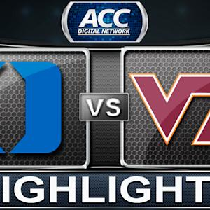 Duke vs Virginia Tech | 2013 ACC Football Highlights