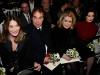 Carla Bruni-Sarkozy, left, Catherine Deneuve, second from right, and Dita Von Teese attend Jean Paul Gaultier's Spring-Summer 2015 Haute Couture fashion collection, presented in Paris, France, Wednesday, Jan. 28, 2015. (AP Photo/Thibault Camus)