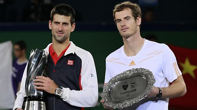 Novak Djokovic and Andy Murray (Reuters)