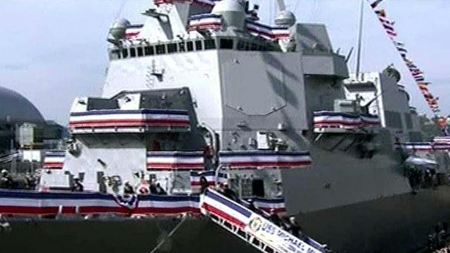 USS Michael Murphy commissioned in honor of fallen hero