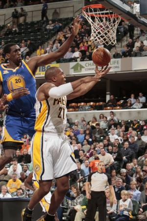 Granger's 25 lead Pacers past Warriors