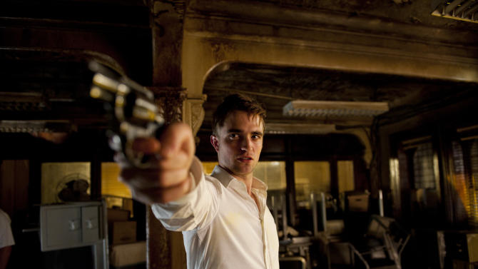 """This film image released by Entertainment One shows Robert Pattinson in a scene from """"Cosmopolis."""" (AP Photo/Entertainment One)"""