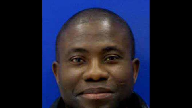 This undated photo provided by the Hartford County Sheriff's Office shows Kujoe Bonsafo Agyei-Kodie. Kodie was reported missing May 25. A college student accused of killing a Kodie told police he ate the victim's heart and part of his brain after he died. (AP Photo/Hartford County Sheriff's Office)