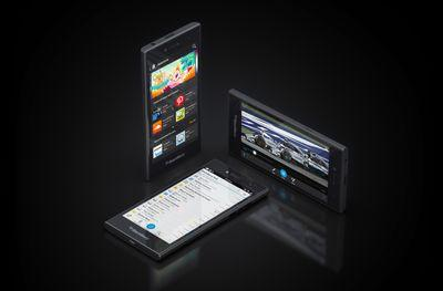 BlackBerry plans to launch a sliding 'dual-curved display' phone this year