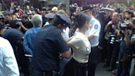 Monday was marked by more arrests of Occupy Wall Street activists during the third day of the commemoration of the launch of the movement.