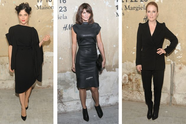Selma Blair, Helena Christensen und Julianne Moore in MMM (Bilder: H&amp;#38;M)