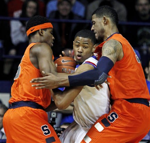 Joseph leads No. 1 Syracuse over DePaul 87-68