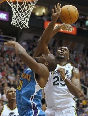 Jefferson has 22 points, Jazz beat Hornets 94-90