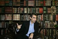 File photo of the director of the Iraqi National Library and Archives, Saad Iskandar, who says the documents from the Saddam Hussein era have been used for long enough, and is pushing legislation that would criminalise their release without the consent of the people they concern