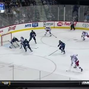 Ondrej Pavelec Save on Marc Staal (17:20/2nd)