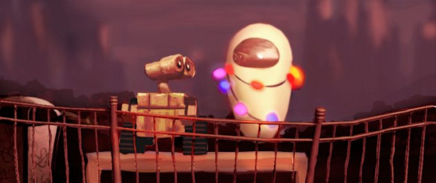 Design Art WALL-E Production Stills Pixar Walt Disney 2008