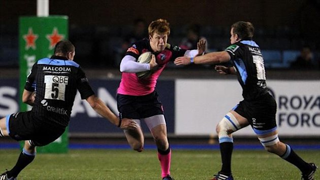 Knee and shoulder problems have sidelined Blues fly-half Rhys Patchell, centre, for several months, the club have confirmed.