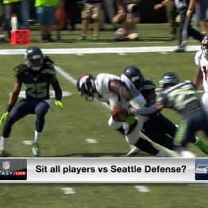 'NFL Fantasy Live': Who to start against Seattle's defense social segment