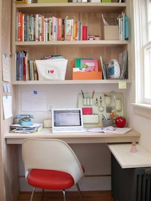 7 Ways to Turn a Closet into Your Home Office | At Home - Yahoo Shine