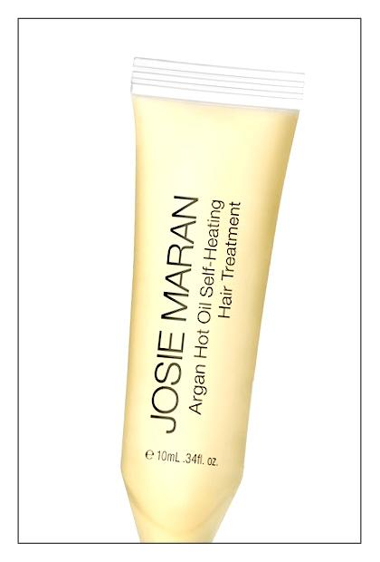 Josie Maran Argan Hot Oil Self-Heating Hair Treatment, $36