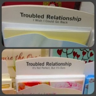 Did You Know Hallmark Has 'Troubled Relationship' Cards?
