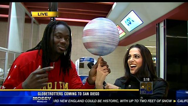 Harlem Globetrotters coming to San Diego Feb. 15