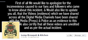 The Lemp Social Media Disaster Episode, The Press Release And Why It Still Does Not Get Social Media image Lemp Brewpub Facebook cover page