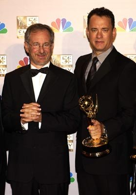 Steven Spielberg and Tom Hanks Band of Brothers Emmy Awards - 9/22/2002