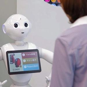 Watch: New humanoid robot helps Nestle sell coffee machines