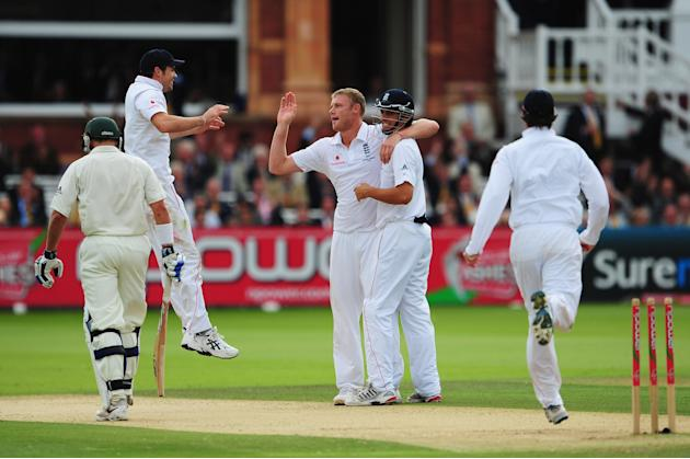 England v Australia - npower 2nd Ashes Test: Day Two